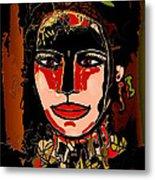 Dark Eyes Metal Print