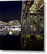 Darling Harbor At Night Metal Print