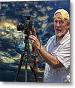 Dave Bell - Photographer Metal Print