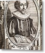 David De Planis Campy, French Alchemist Metal Print by Middle Temple Library