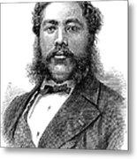 David Kalakaua (1836-1891) Metal Print by Granger