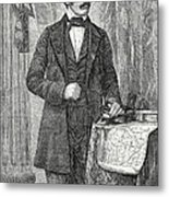 David Livingston, Scottish Missionary Metal Print by Science Source