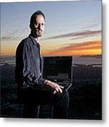 David P. Anderson, Us Computer Scientist Metal Print