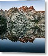 Dawn At Upper Sardine Lake Metal Print