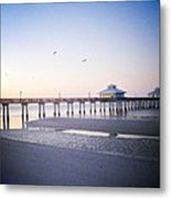 Dawn Breaking Vanilla Pop Metal Print