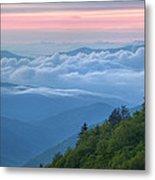 Dawn Great Smoky Mountains Metal Print