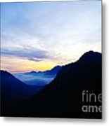 Dawn In The Foothills Of The Cascades  Metal Print