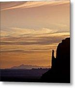 Dawn In The West Metal Print by Andrew Soundarajan