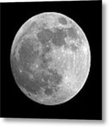 Day Before The Full Moon Metal Print