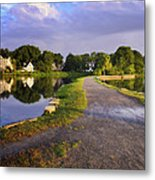 Daybreak In Babylon Metal Print by Vicki Jauron