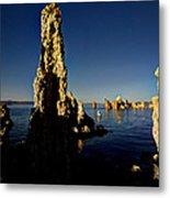 Daybreak On Mono Lake Metal Print