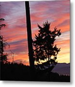 Daybreak On The Island Metal Print