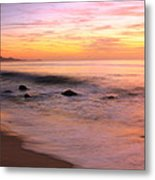 Daybreak Seascape Metal Print