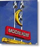 Daylight At The Moonlight Metal Print