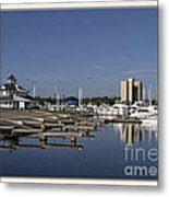 Daytona Boat Launch Metal Print