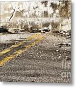 Dead End Street Metal Print by Blink Images