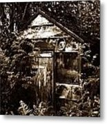 Dead Shed  Metal Print