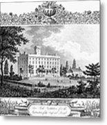Deaf And Dumb Asylum, 1835 Metal Print