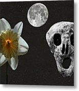 Death And The Daffodil  Metal Print