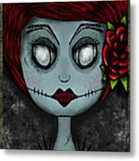 Death Becomes Her Metal Print