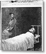 Death Of Ulysses S. Grant Metal Print