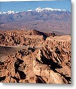 Death Valley - San Pedro De Atacama - Chile Metal Print