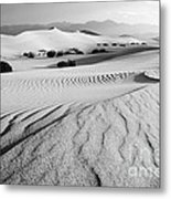 Death Valley Dunes 11 Metal Print by Bob Christopher