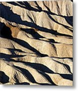 Death Valley Erosion Metal Print