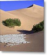 Death Valley Salt Flat Metal Print