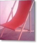 Deauville Chair Metal Print