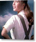 Debbie Reynolds In The 1950s Metal Print