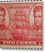 Decatur And Macdonagh Postage Stamp Metal Print