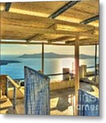 Deck View Of The Med Metal Print