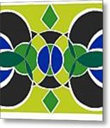 Decorative Tile Metal Print