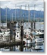 Deep Bay Harbor Metal Print by Artist and Photographer Laura Wrede