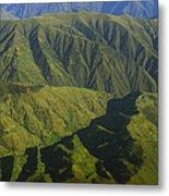 Deep Canyons Drain To Rio Apurimac Metal Print