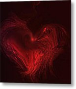 Deep Hearted Metal Print