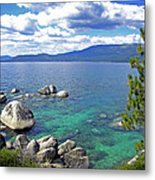 Deep Waters Lake Tahoe Metal Print