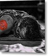 Defeated No. 3 Metal Print