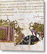Defense Of Constantinople Metal Print by Granger