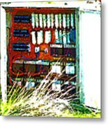 Defused Box Metal Print