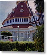 Del Coronado Hotel San Diego  Metal Print