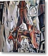Delaunay: Eiffel Tower, 1910 Metal Print