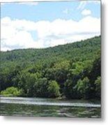 Delaware Water Gap Scenery Metal Print