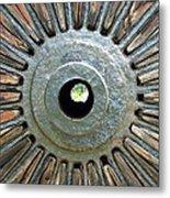 Deleon Springs Wheel Spoke Metal Print