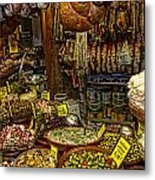 Deli In Palma De Mallorca Spain Metal Print by David Smith