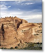 Delicate Arch Viewpoint - D004091 Metal Print