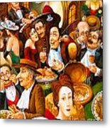 Delicatessen Metal Print
