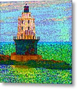 Delight House Metal Print