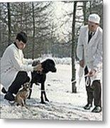 Demikhov's Laboratory Dogs, 1967 Metal Print